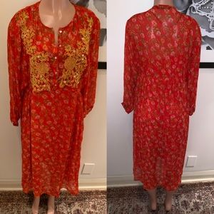 ZARA| kaftan like dress| M